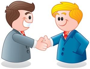 Le but: acheteur et vendeur satisfaits