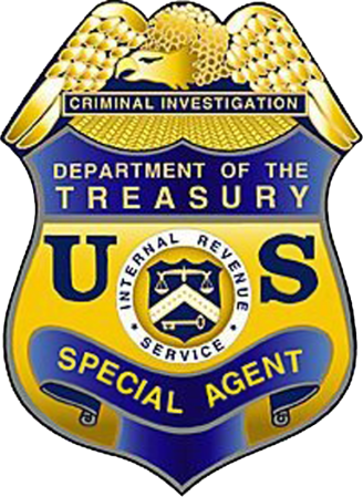 IRS Special Agent Badge- Immobilier Floride