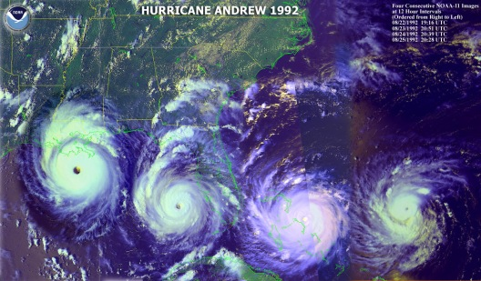 L'ouragan Andrew 1992