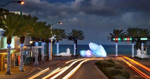 Fort Lauderdale Holiday Seasons - Immobilier Floride - Les poissons de la plage