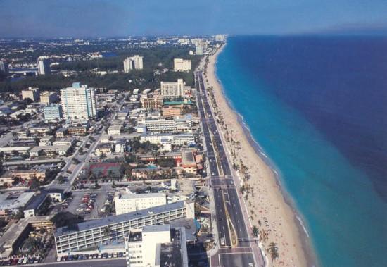 La plage - Immobilier Floride