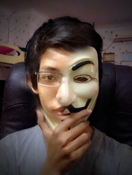 Anonymous Mask Hacker