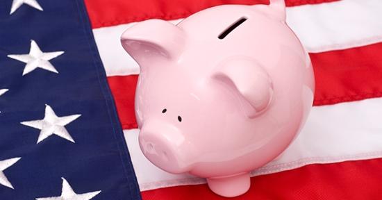 Flag-Backgroud-Piggy