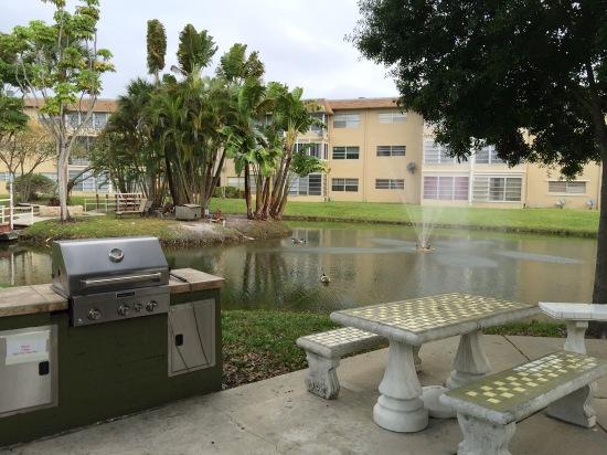 Hawaiian Gardens 5051 W Oakland Park BL BBQ Area
