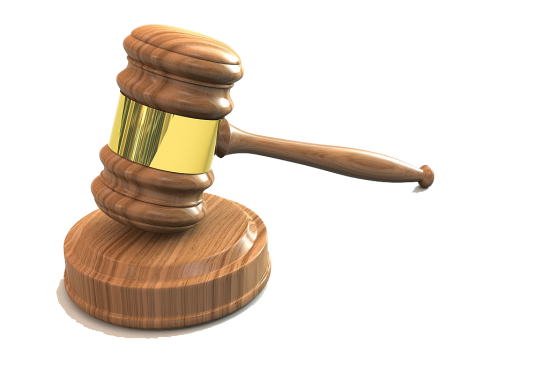 3D_png_Judges_Gavel